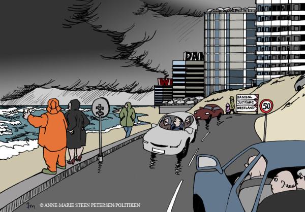 Tegning: Schønherr åbner debat i Politiken