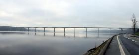 Ny jernbane over Vejle Fjord