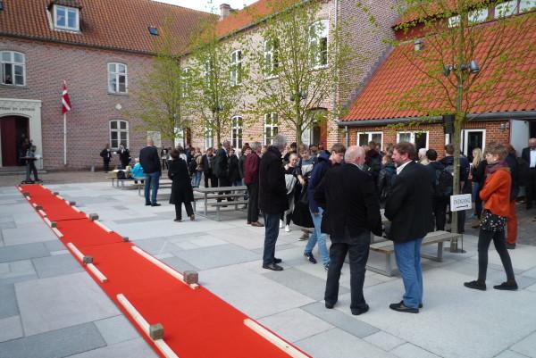 Skolegårdskunstværk indviet ved Ribe Katedralskole