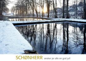 Julekort fra Schønherr