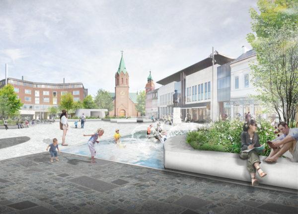 Schønherr vinder det nye Silkeborg Torv