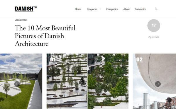 DANISH™ – De ti flotteste billeder af dansk arkitektur