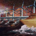 Collage på vand