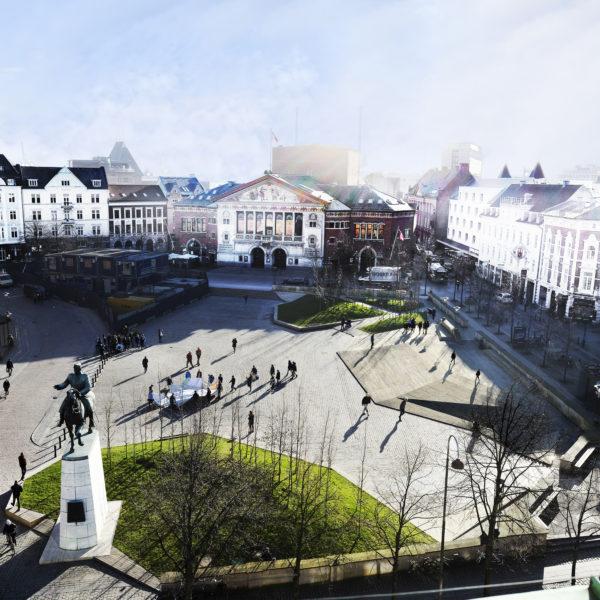 Hvad lærer byen Bispetorv? Hvad lærer Bispetorv byen?