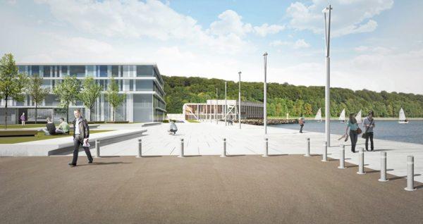 Nyt sejlsportscenter tager form i Aarhus