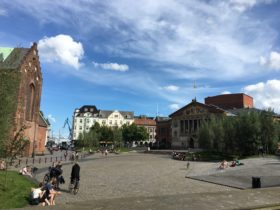 Rethink & Danske Parkdage – Bispetorvet i grønne omgivelser