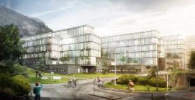 Børne- og ungdomssygehus i Bergen vinder arkitekturpris