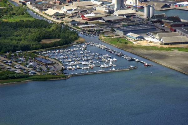 En af landets største lystbådehavn: Marina City Kolding