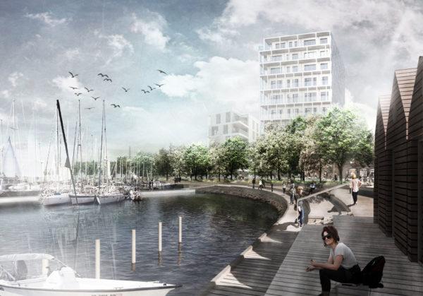 Marina City bliver Koldings nye bæredygtige bydel ved fjorden