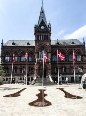 Rådhustorvet i Vejle indvies