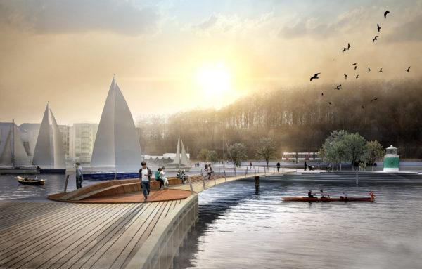 'Lav sol over Aarhus' – Visionsplan for Aarhus Ø