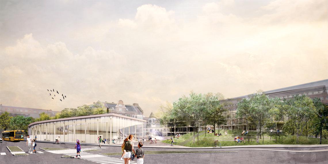 Toftegårds Plads Visualisering