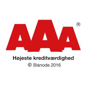 AAA højeste kreditværdighed certificeret