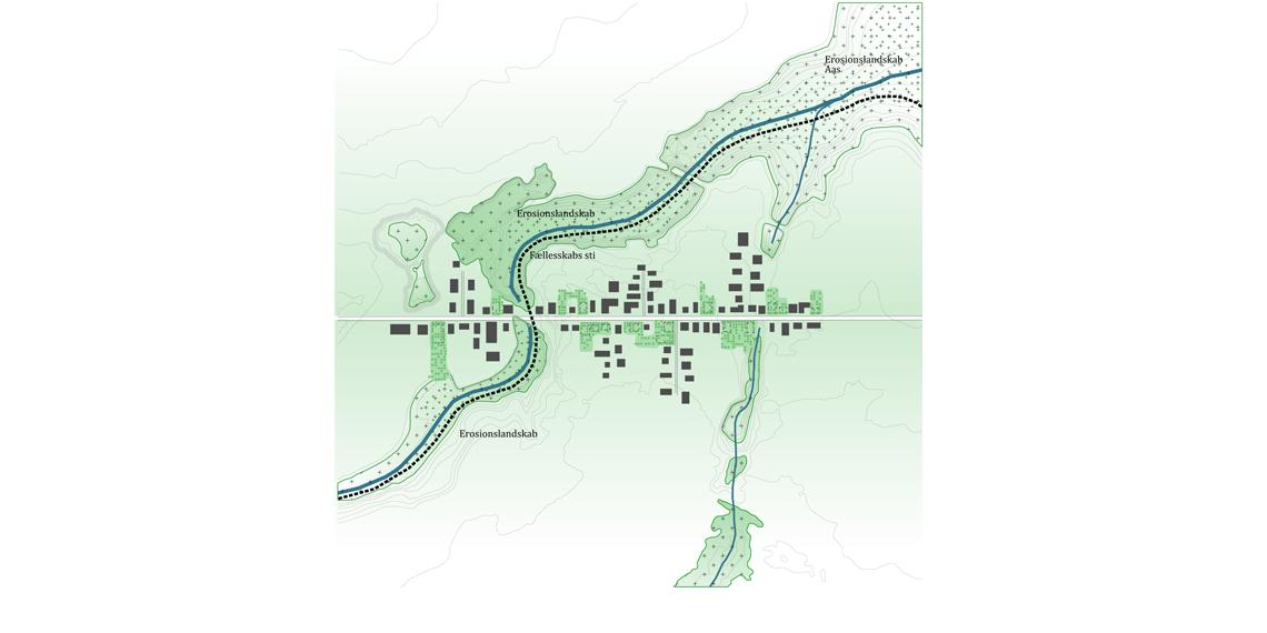 Løkkesvej Plantegning - landsbyen om 3-4 år