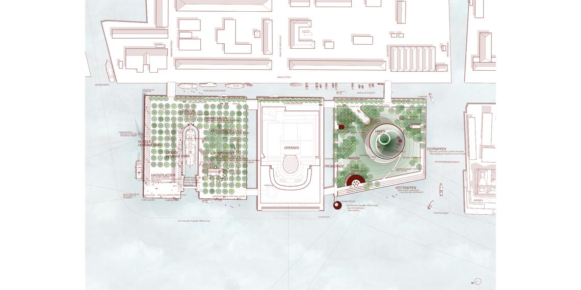 Operahouse Copenhagen - Masterplan